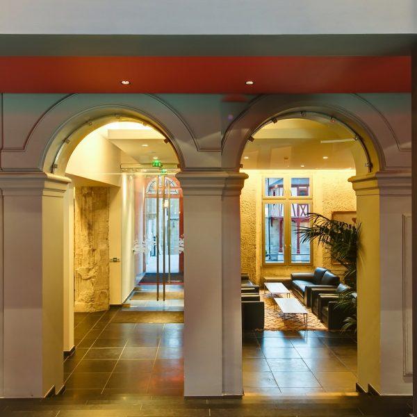 Hôtel de Bourgtheroulde Architeces Maes & Agence A propos de Lieu